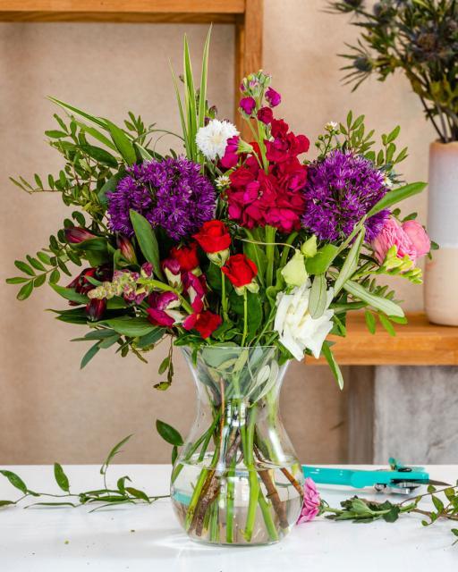 Gėlių šventė - floristo fantazija
