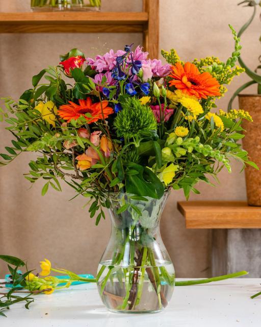 Stebuklingas sodas - floristo fantazija