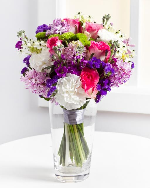 Round Bouquet in Pastel Colours