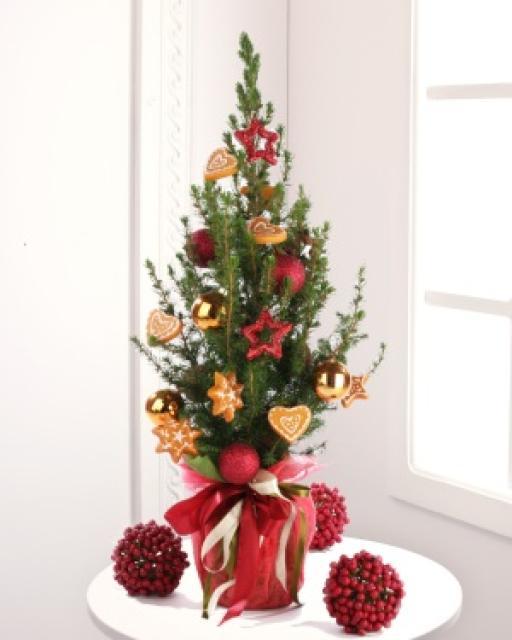 Papuoštas Kalėdų medis
