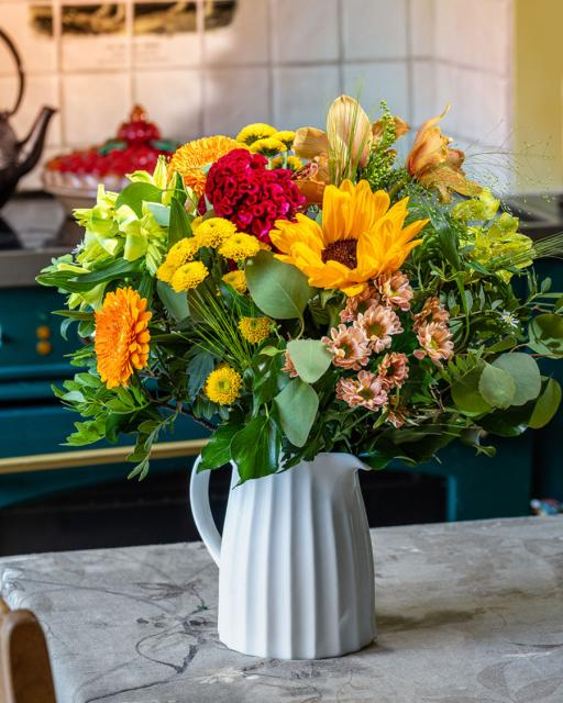 Autumn bouquet of the day
